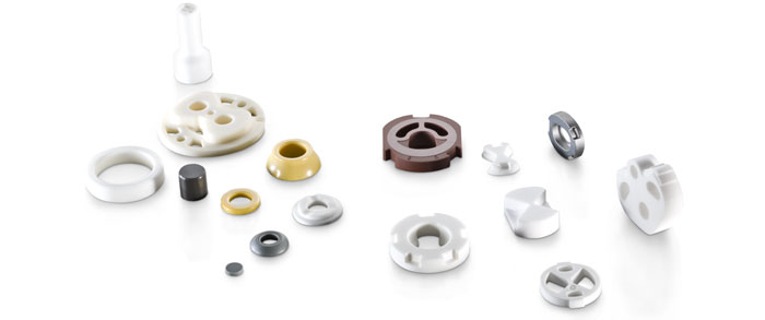Ceramic Seal Rings, Bearings and Sealing Technology in Automotive Engineering