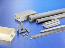 Pipes and Tubes made from Alunit® Aluminum Nitride Ceramics