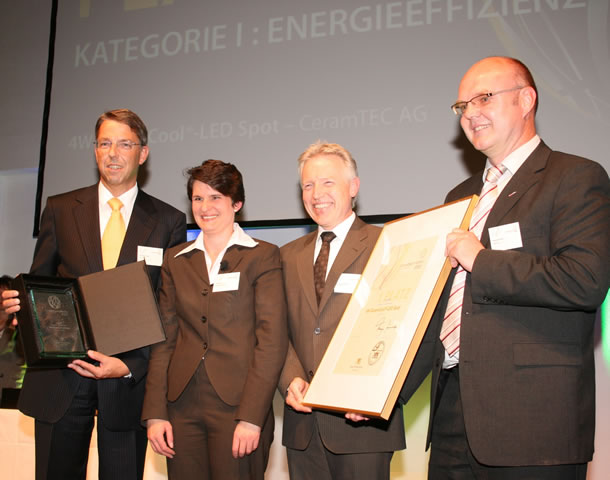 CeramTec AG wins environmental technology award