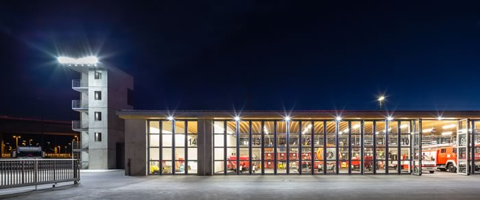 ceramcool® led lighting systems installed at new plochingen fire
